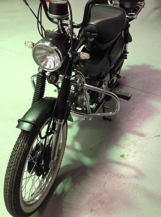 Ground up rebuild CT110 Mk1 motorcycles