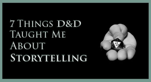 A nerdy confessional where I go back through some tabletop RPG experiences that taught me valuable storytelling truths.