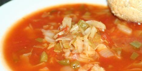 En dejlig og fedtfattig suppe. God med brød til.