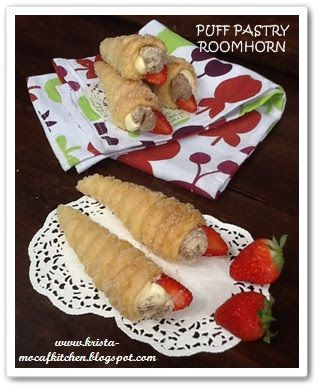 KRISTA MOCAF KITCHEN: Roomhorn Puff Pastry - Not Gluten Pastry