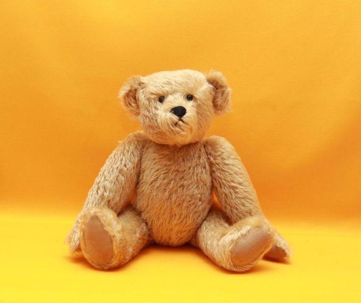 #TeddyBears #Teddy #Bears MORRIS MICHTON TEDDY BEAR~AUTHENTIC TEDDY BEARS~2001~MOVEABLE ARMS #TeddyBears #Teddy #Bears