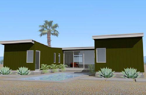 Maison préfabriquée modulaire / contemporain / à 2 étages / écologique DESERT HOT SPRINGS OMD office of mobile design