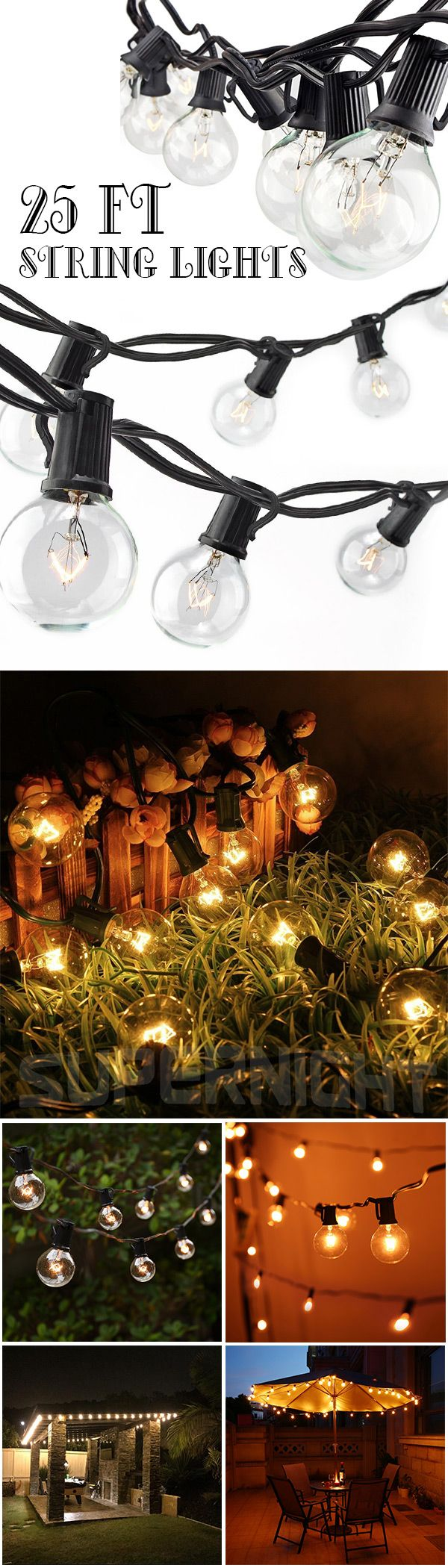 Love twinkling Christmas lights on your tree? Well, string lights can be way more than holiday decorations for you tree. Check out these awesome ways to use Christmas lights and make your home more festive than you ever thought possible. Perfect for DIY holiday decor, some of these cool ideas work~Click the Picture or VIsit button you will get one cool gadgets:)#string#light#lamp