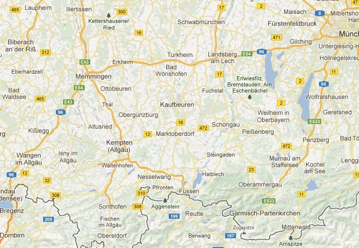 maps.ostallgäu - Die Karte für's Ostallgäu