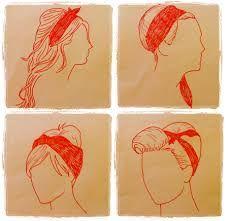 resultado de imagen de peinados pin up lazo paso paso