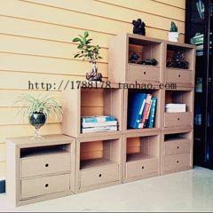 ¥ 11,80 Книги Книжная полка стол Организатор отделка шкаф ящик бумаги Квартет желаемое за действительное зеленый гофроящик креативная мебель