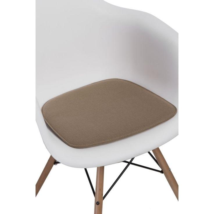 Podsedák 40x39 cm, cappuccino