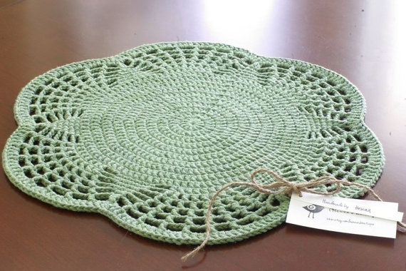 Crocheting Placemats : Crochet - Placemat Crochet Pinterest