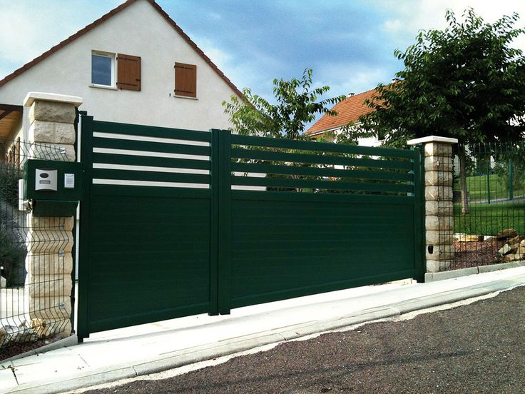 11 best Slope fence images on Pinterest Fences, The portal and