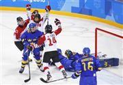 スマイルJ、五輪初勝利ならず…格上スウェーデンに惜敗/アイスホッケー