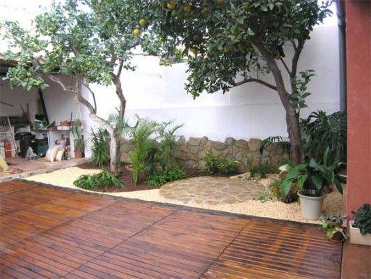 Jardines peque os arreglar dise o de interiores for Diseno de patio exterior pequeno