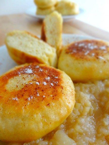 Dampfnudel (petits pains cuits à la vapeur)