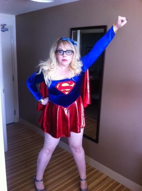 I was wonder woman for Halloween. (: xx
