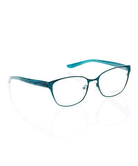 Teal Eyeglasses