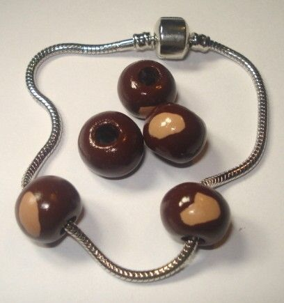 clay buckeye beads for Pandora bracelets and more.....: Osu Crafts, Osu Buckeyes, Buckeyes Beads, Clay Buckeyes, Pandora Bracelets, States Buckeyes, Bling Sparkle, Bling Bling, More Repin By Pinterest