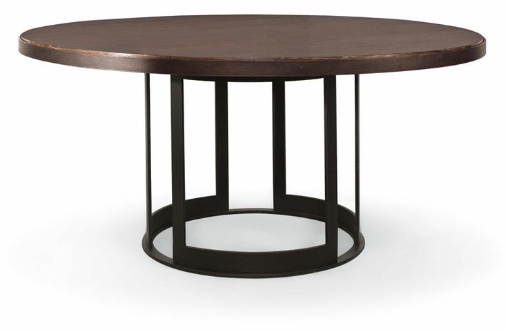 "Possible large round table instead of square (if too hard to find). Bernhardt Elements 64"" round"
