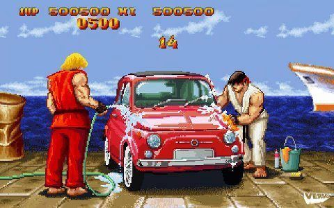Mientras, en un Street Fighter paralelo...