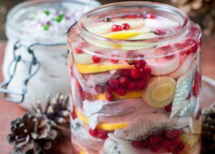Lingon- och citronsill   MåBra - Nyttiga recept