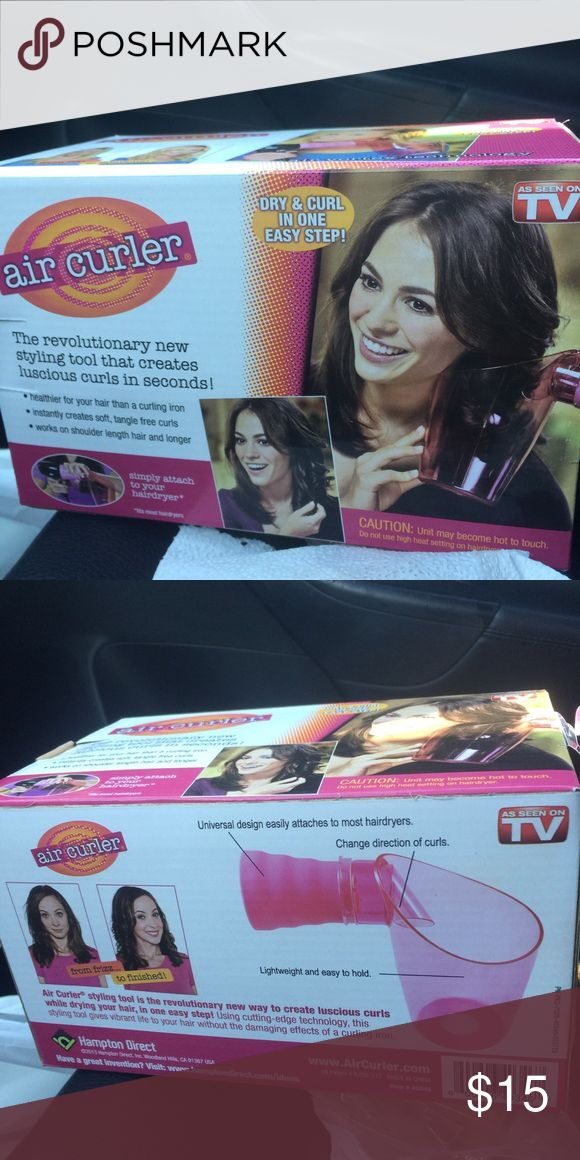 New air curler as seen on TV New hair air curler as seen on TV Other