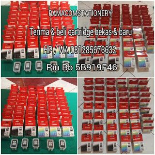Jual Beli Tinta Cartridge Bekas PEKAN BARU - Jual Beli Tinta Catridge dan Toner Laserjet Bekas dan Baru - RAMACOMSTATIONERY