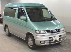 Mazda bongo in lovely aqua marine colour very sought after.