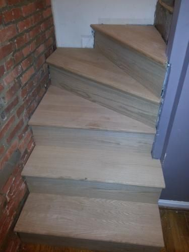 Simple Tread, In. Oak False Stair Tread Cap And Riser Kit, At The Home Depot    Mobile