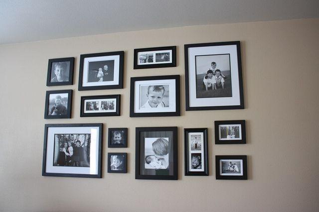 Wall Gallery Arrangement