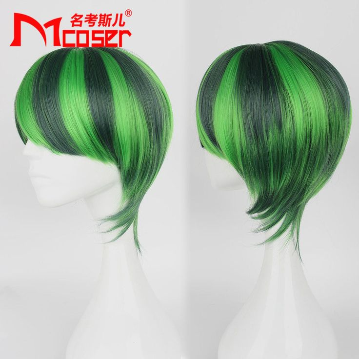 Fashion 32cm the Latest Popular Harajuku wind Men's Short Watermelon Lolita Wigs | eBay