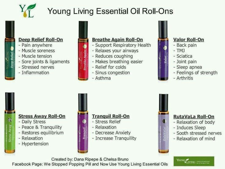 43 Best Young Living Rollers Images On Pinterest Young