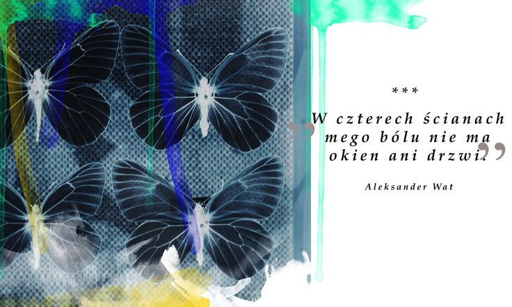Aleksander Wat, Mentona, luty 1956, #quotes #digital picture from #mothmouth-throughthelookingglass.blogspot.com/