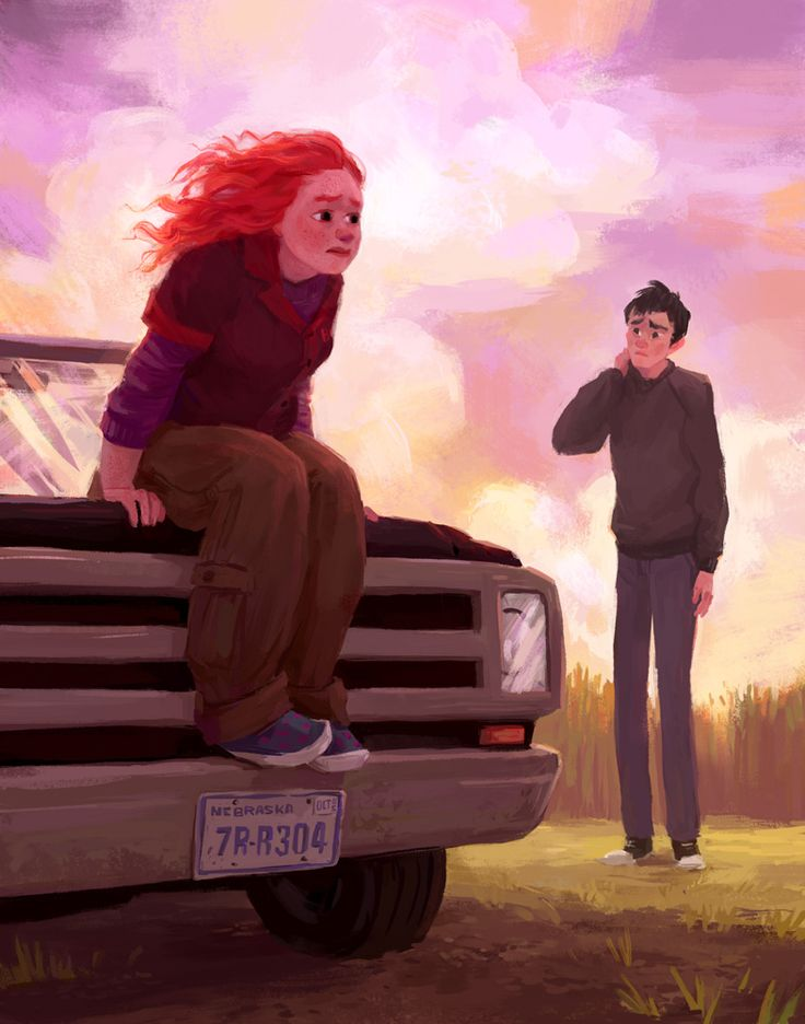 One last Eleanor and Park illustration.*  *Probably. I think. For now, at least.