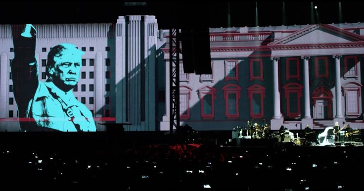 """On Inauguration Day, Roger Waters posted the video for his incendiary, Trump-slamming performance of """"Pigs (Three Different Ones)"""" from Mexico City."""