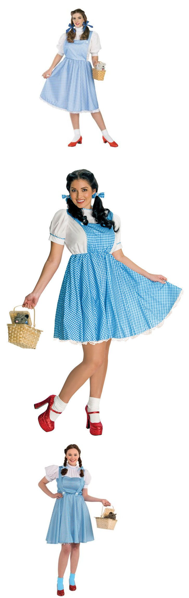 Halloween Costumes Women: Dorothy Wizard Of Oz Adult Dress Halloween Costume Xl (14-16) -> BUY IT NOW ONLY: $49 on eBay!