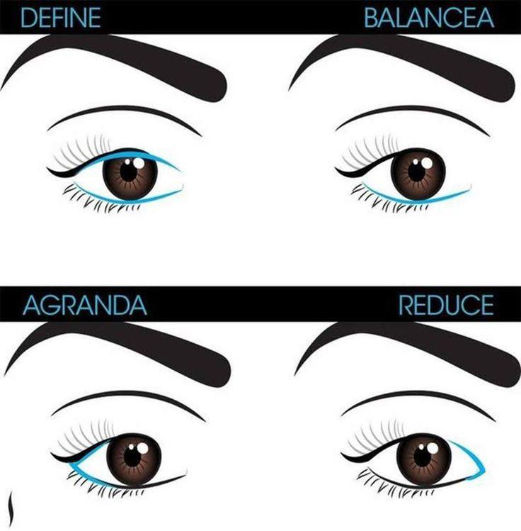 21 secretos de maquillaje en los ojos para las adictas al maquillaje