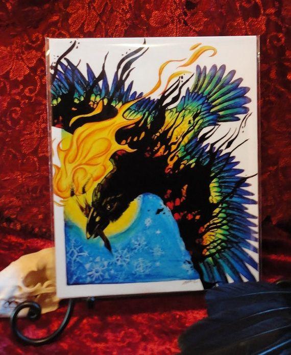 PRINT Rainbow Crow | Legends, Art and Folk