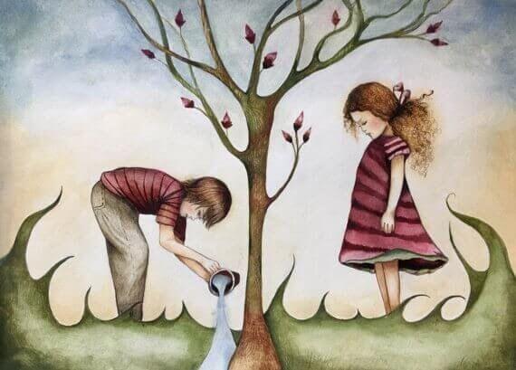 """El padre ausente emocionalmente es quien a pesar de """"estar"""", sólo nos ofreció un vacío carente de vínculos y de reconocimientos."""