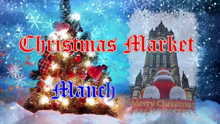 Рождественская ярмарка. Манчестер. #Англия #Christmas Market. Manchester...