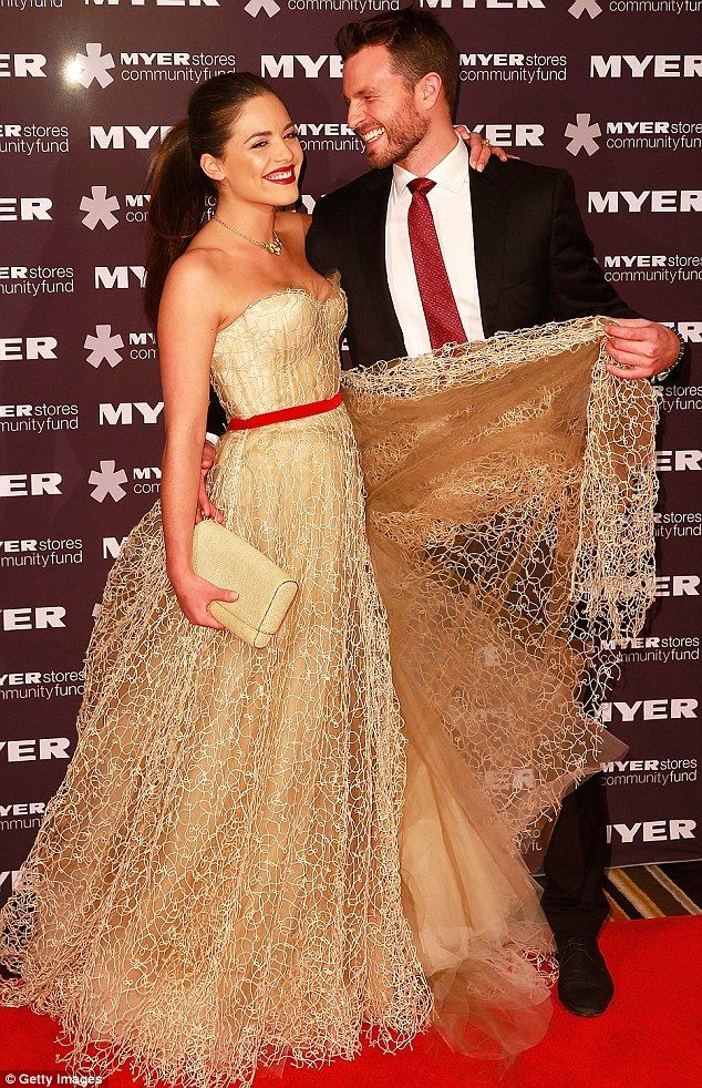 Fairytale over: Neighbours starlet Olympia Valance announced on Friday that she has split from boyfriend of 15 months, Greg Cannell