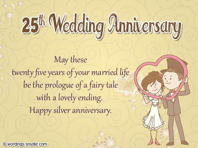Ideas For 5th Wedding Anniversary Gifts For Husband: 25th-wedding-anniversary-cards