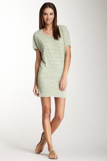 Stripe T-shirt Dress   Vacation   Pinterest