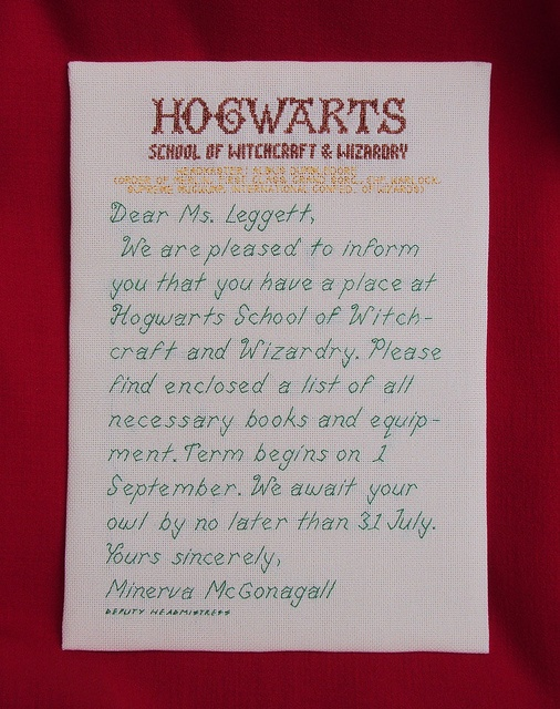25 best hogwarts letter images on Pinterest Harry potter - hogwarts acceptance letter