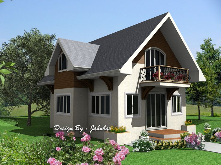 Attic Home Design Attic, Attic house and Square meter - simple house designs