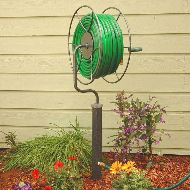 FreeStanding 200 ft. 360 Degree Swivel Hose Reel in 2020
