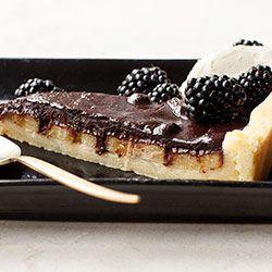 Tarta czekoladowa z bananami   Kwestia Smaku