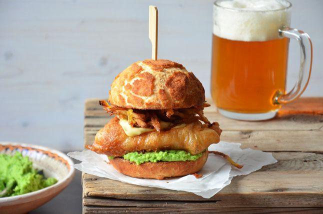 Kublanka vaří doma - Fish & Chips Burger