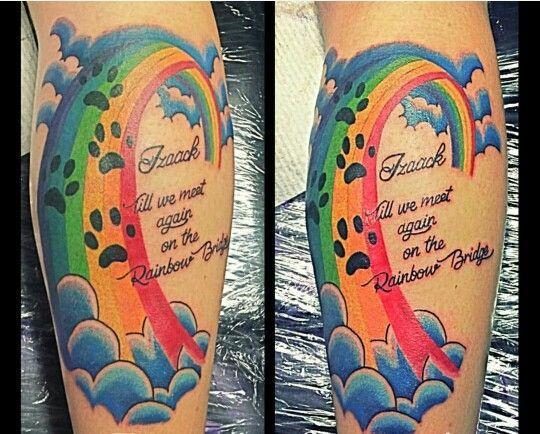 rainbow bridge tattoos pinterest rainbow bridge rainbows and bridge tattoo. Black Bedroom Furniture Sets. Home Design Ideas
