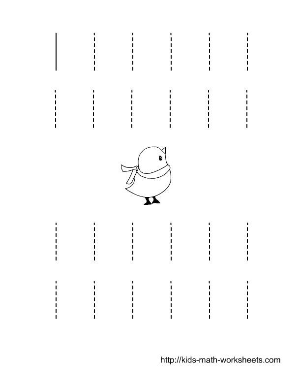 Free Printable Tracing Worksheets Preschool Free