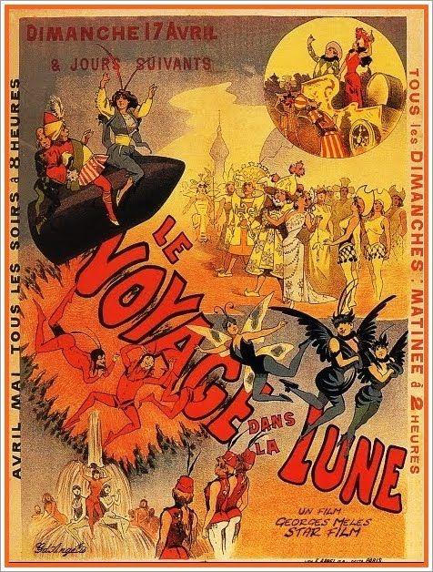 Le Voyage dans la Lune: Luna George, Gris Cinema, Moon, George Melie, Le Voyage Dan La Lune, Lune 1902, George Méliè, Melie Viajes, The Moon