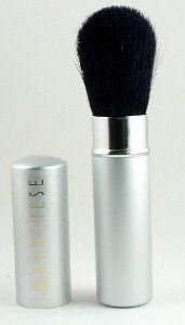 "BORGHESE Retractable Face Brush - Travel by Borghese. $6.25. This brush, when closed with the cap in place, measures approximately 4.75"" in length.  It can be used for a number of things:  mineral makeup, face powder, blush, bronzer, highlighter, etc.  Since it does have a cap, it is perfect for your purse or suitcase.. BORGHESE Retractable Face Brush - Travel. BORGHESE Retractable Face Brush - Travel"