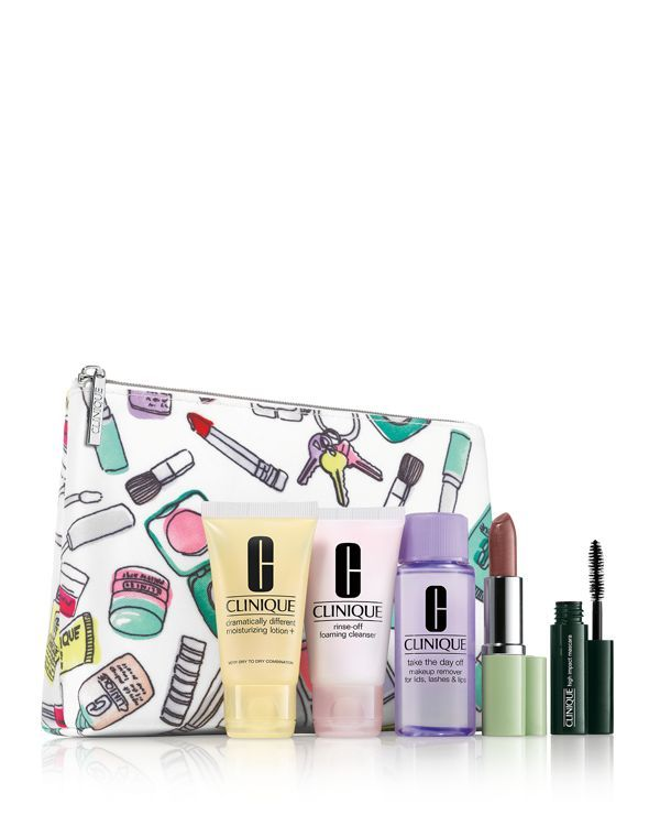 Gift with any $40 Clinique purchase!
